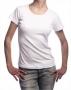 Фото или надпись на женской футболке